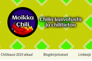 Moikka Chilit -blogi