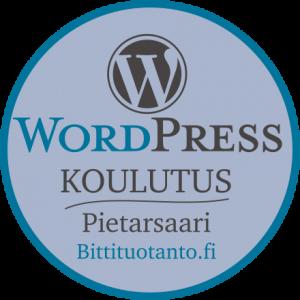 WordPress-koulutus Pietarsaaressa